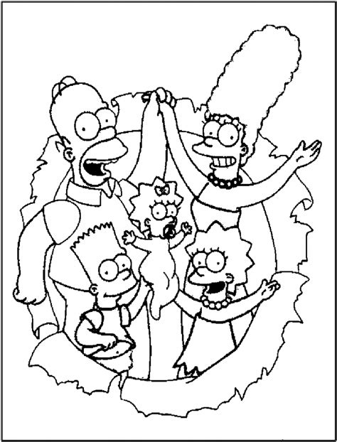 Free Y Coloring Pages by Free Printable Simpsons Coloring Pages For