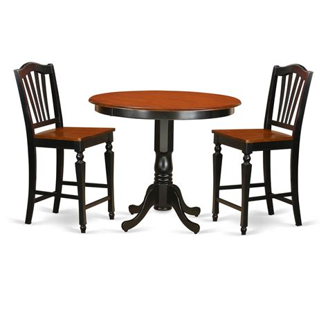 Trenton Counter Height Stool by East West Trenton 3 Counter Height Pub Table Set