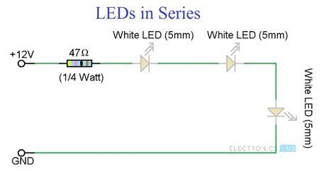 Led Lights Circuit Diagram