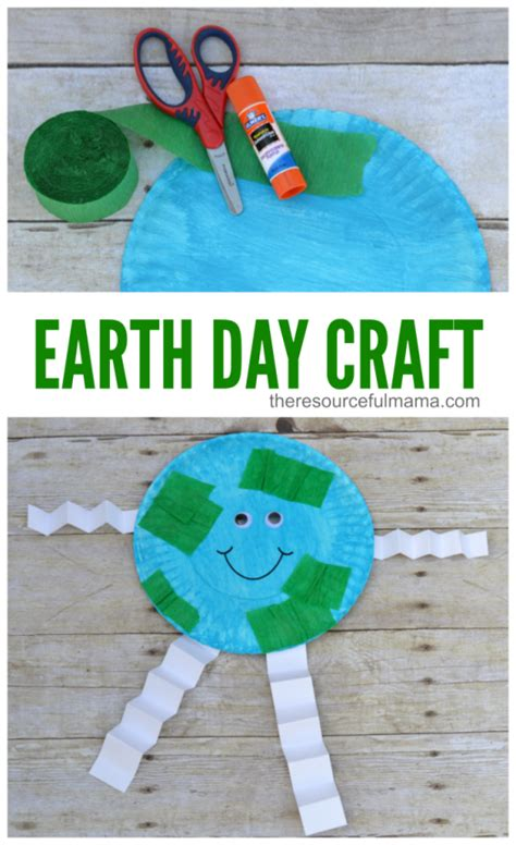 Earth Day Paper Crafts - earth day craft for planets earth and craft