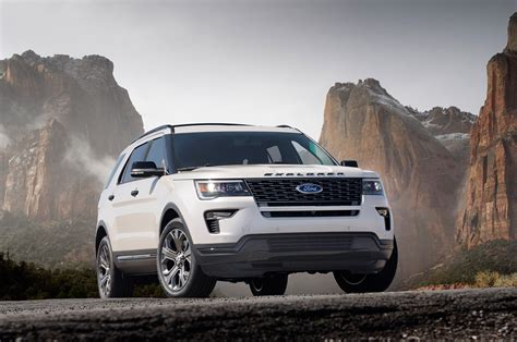 2018 ford explorer reviews and rating motor trend