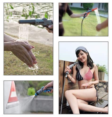 Cuci Gudang Pompa Galon Elektrik Pakai Adaptor Listrik Merk Q2 tour self driving kit portabel membersihkan peralatan tekanan air ac membersihkan manchine