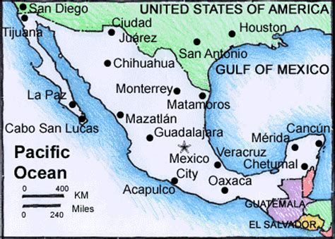 map of mexico major cities worldincentivenexus mexico spotlight