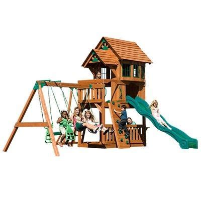 2 person swing set cedar wood outdoor swing set with 2 person glider monkey