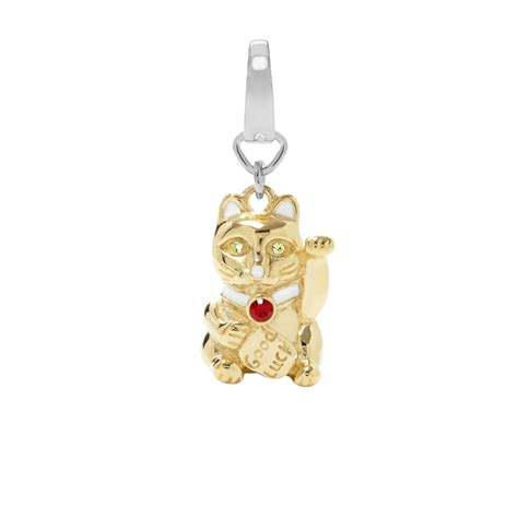 fossil lucky cat charm jf00657 fossil 174
