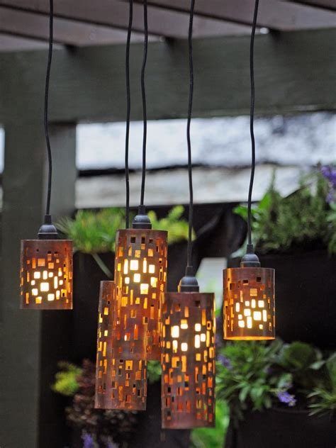 Outdoor Hanging Lights Patio Set The Mood With Outdoor Lighting Hgtv