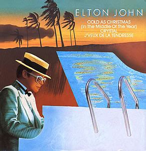 elton john xmas song elton john cold as christmas in the middle of the year