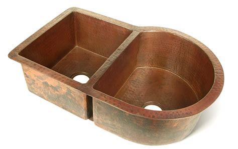 nautilus single well copper kitchen sink