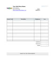 blank invoices template blank invoice template helloalive