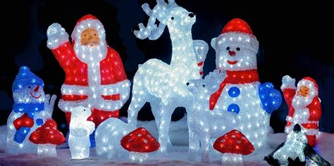 decorative christmas figures christmas 2017 at festive