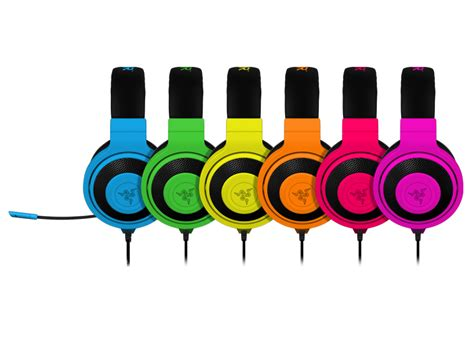 Headset Razer Neon Series razer kraken neon series gaming headsets and headphones