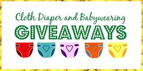 Babywearing Giveaway - cloth diaper babywearing giveaways and eco friendly giveaways