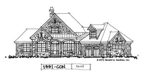 house plan on the drawing board plan 1331