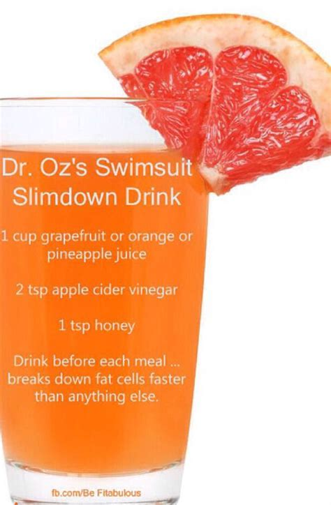 Dr Oz Hair Detox Recipe by Slim Drink Pictures Photos And Images For