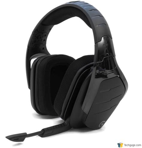 Headset Logitech G633 logitech g633 artemis spectrum rgb 7 1 surround sound headset review techgage