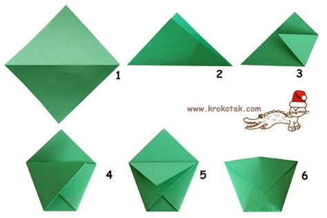 Make A Paper Pocket - krokotak a calendar
