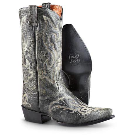s dan post 174 el paso 13 quot v boots black 227135