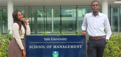 Yale Pre Mba by Tackling Global Challenges Ashesi Students Travel To Yale