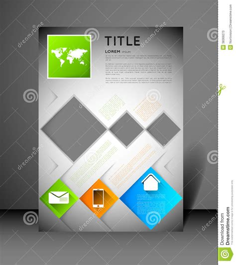 modern poster modern poster design template stock photos image 38369273