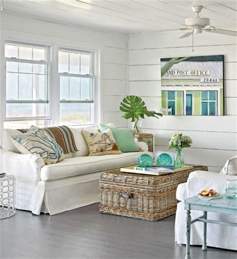 beach cottage living room from the masthead coastal cottages with a view