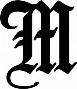 tattoo font letter m 17 best images about m on pinterest hand embroidery
