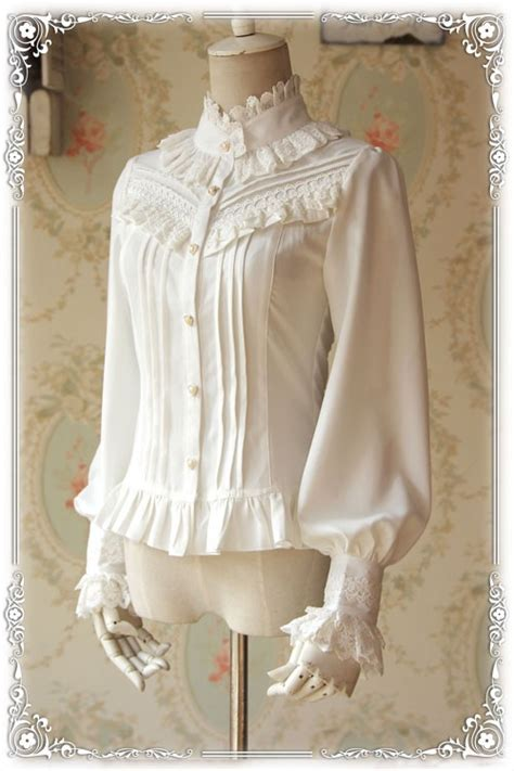 Olita Blouse infanta strong fragrance thick chiffon blouse