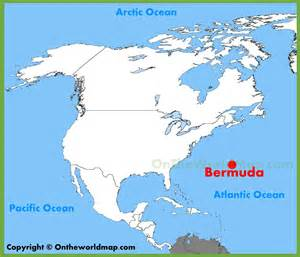 map of bermuda and united states bermuda location on the america map