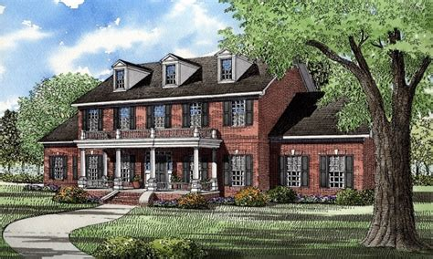 colonial style home plans house plans colonial style homes georgian plantation style house plans brick colonial homes