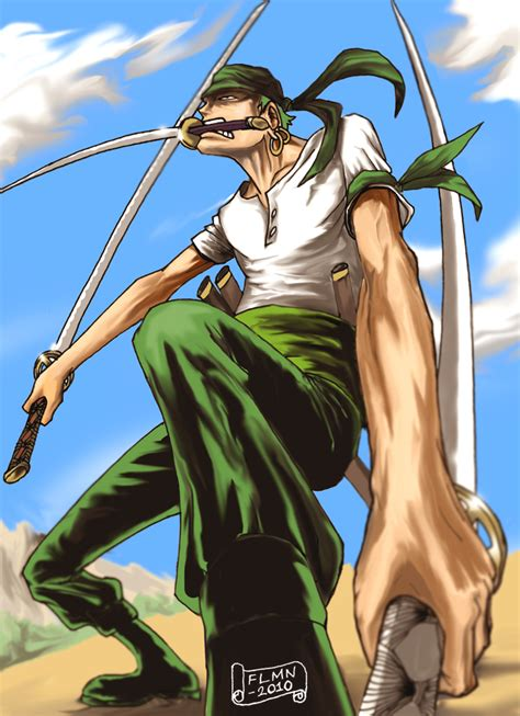 kaos roronoa zorro one roronoa zoro one by flmn on deviantart