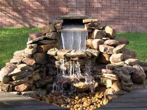 building a backyard water feature backyard waterfalls and ponds to beautify your outdoor decor