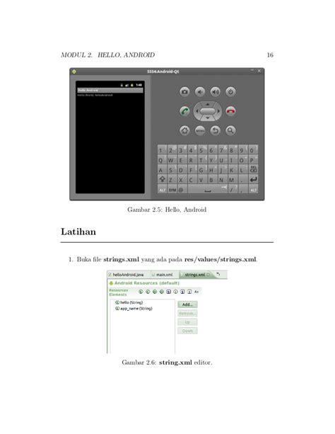 ebook tutorial android studio indonesia ebook tutorial pemrograman android