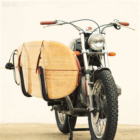 Motorcycle Surfboard Rack by Surfboard Rack For Bonneville Page 4 Triumph Forum Triumph Rat Motorcycle Forums