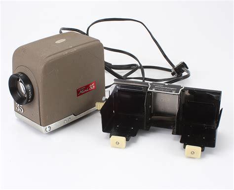 Slide Proyektor Mini minolta mini 35 slide projector autochanger dusty bulb optics 190994 ebay