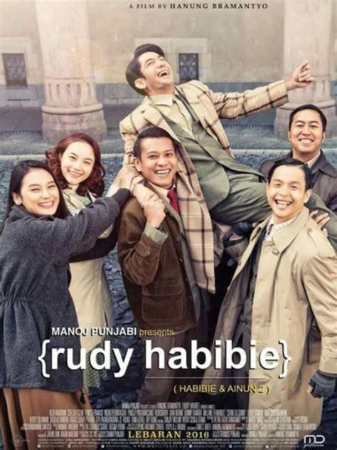 film bioskop habibie dan ainun intip yuk poster perdana film rudy habibie yang