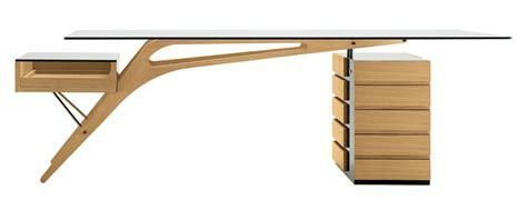 bureau bois verre bureau cavour bois verre 247 x 90 cm ch 234 ne naturel