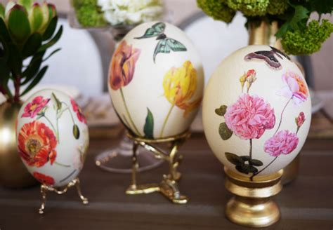 Decoupage Eggs - diy d 233 coupage eggs