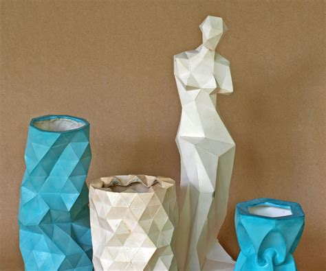 Papercraft Materials - with molds made with papercraft models 8