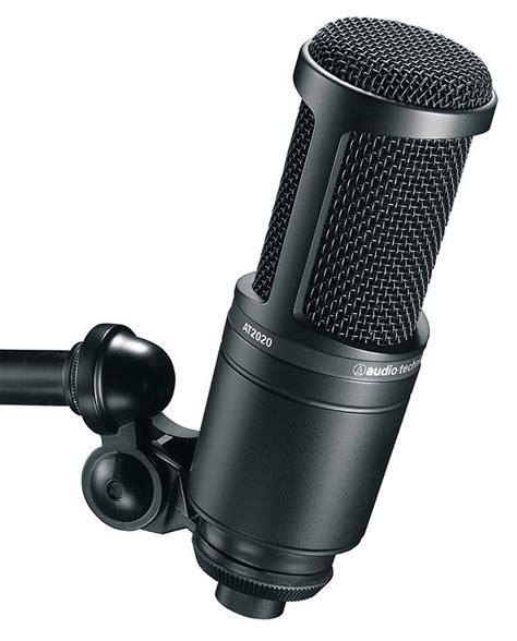 Audio Technica At2020 Cardioid Condenser Studio Microphone top 10 best microphones ebay