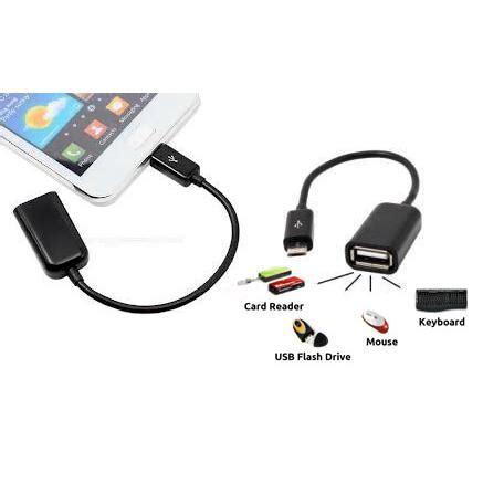 Kabel Data Usb Otg otg kabel usb micro kabel otg micro usb elevenia