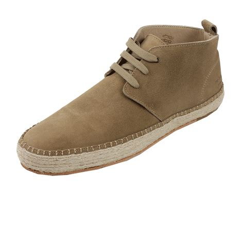rag bone mens boots rag bone mens clifton boot espadrille in beige for