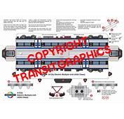 Adelaide Rail Model  Transit Graphics