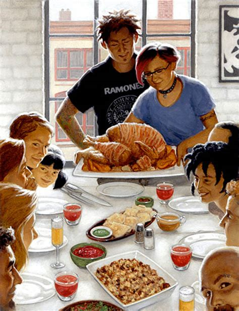 norman rockwell dinner table the 37 best parodies of rockwell s freedom from want