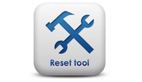 reset tool deliberant reset tool