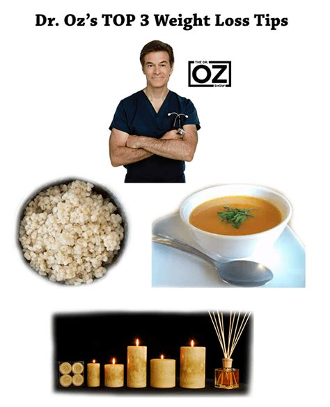 Studdard Host Of State Weight Loss Plan by Dr Oz S Top 3 Weight Loss Tips Barley Vanilla And
