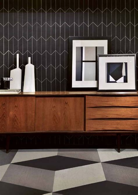 white backsplash with black grout tile crushes centsational
