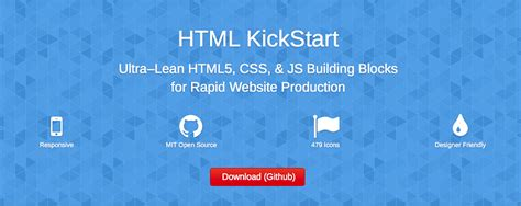 tutorial html kickstart html5 framework kickstart stacktips