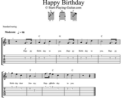 happy birthday guitar music mp3 download easy happy birthday for guitar