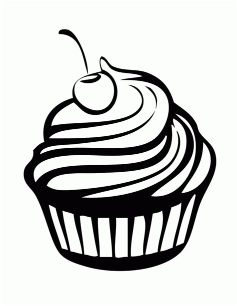 Zentangle Cupcake Coloring Sheets Coloring Pages Cupcake Coloring Pages