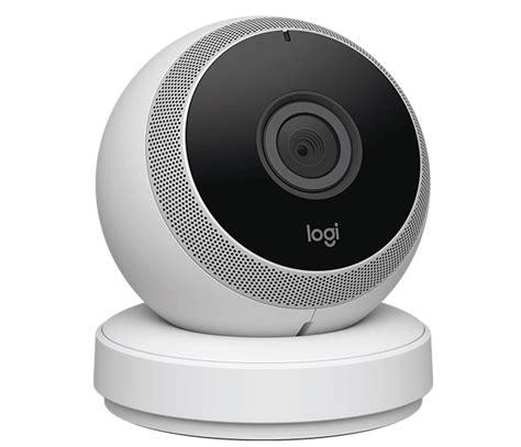 logitech circle hd wireless home security