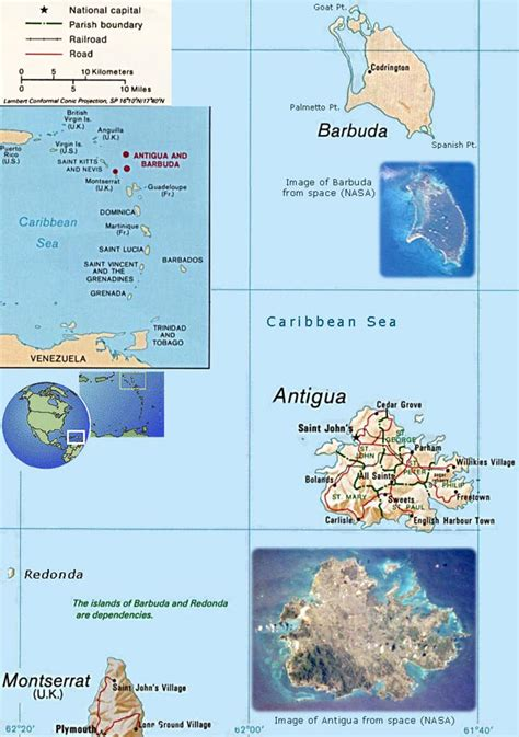printable road map of antigua relief and road map of antigua and barbuda antigua and